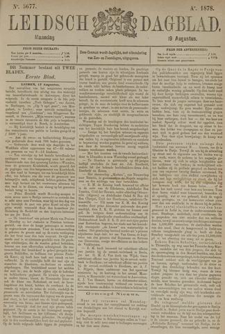 Leidsch Dagblad 1878-08-19
