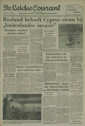 Leidse Courant 1964-08-17