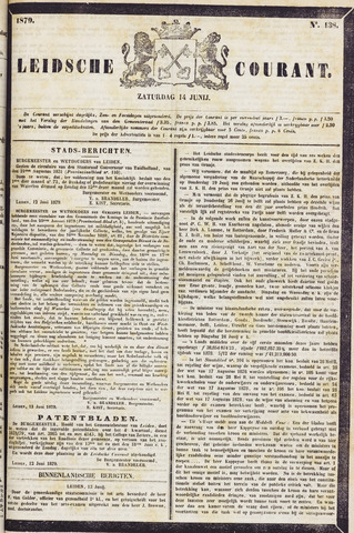 Leydse Courant 1879-06-14