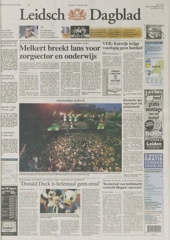 Leidsch Dagblad 2000-08-26