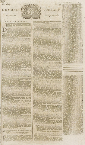 Leydse Courant 1814-03-30