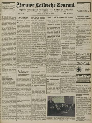Nieuwe Leidsche Courant 1938-03-22