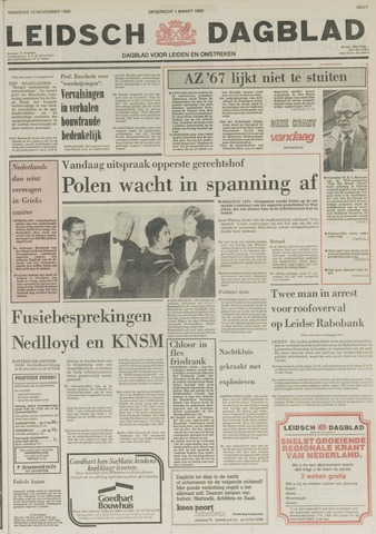 Leidsch Dagblad 1980-11-10