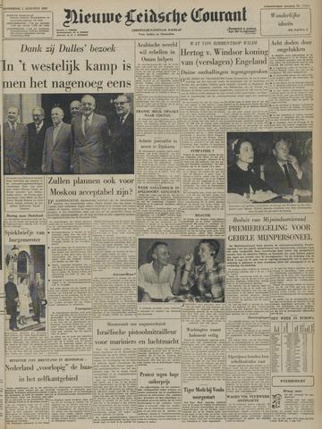 Nieuwe Leidsche Courant 1957-08-01