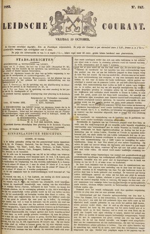 Leydse Courant 1883-10-19