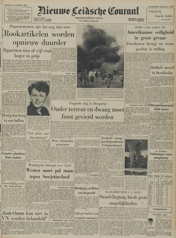 Nieuwe Leidsche Courant 1957-08-20