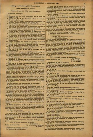 Handelingen van de Raad 1894-02-15