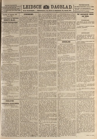 Leidsch Dagblad 1921-08-10