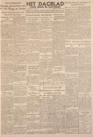 Dagblad voor Leiden en Omstreken 1944-09-04