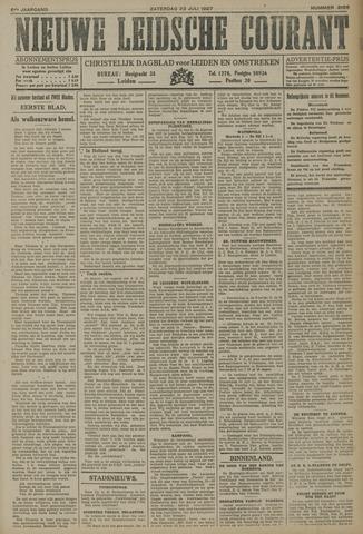Nieuwe Leidsche Courant 1927-07-23