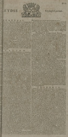Leydse Courant 1722-07-10