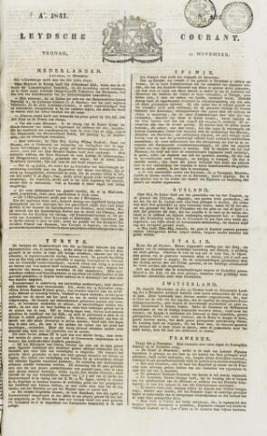 Leydse Courant 1841-11-12