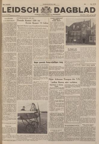 Leidsch Dagblad 1951-07-20