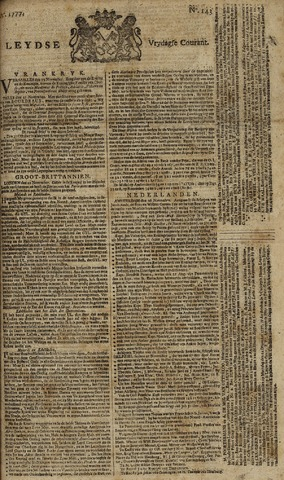 Leydse Courant 1777-11-28