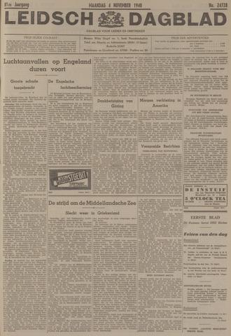 Leidsch Dagblad 1940-11-04