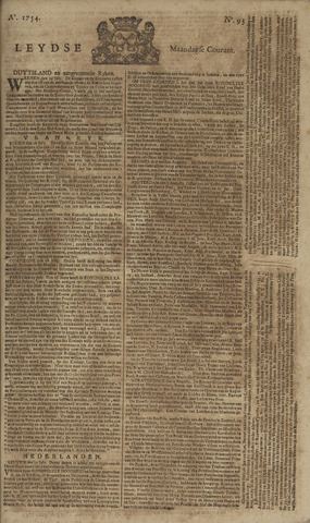 Leydse Courant 1754-08-05