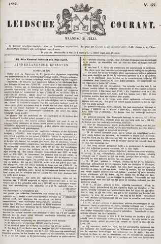 Leydse Courant 1882-07-31