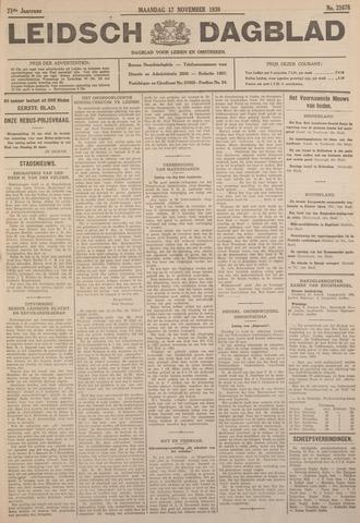 Leidsch Dagblad 1930-11-17