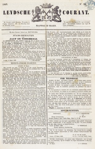Leydse Courant 1869-03-29