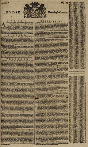 Leydse Courant 1779-10-11