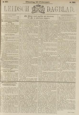 Leidsch Dagblad 1892-02-23