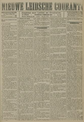 Nieuwe Leidsche Courant 1923-02-07