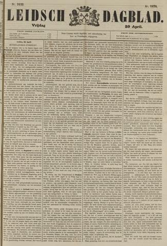 Leidsch Dagblad 1870-04-29