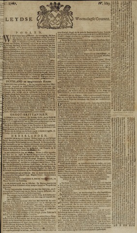 Leydse Courant 1767-10-28
