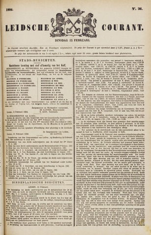 Leydse Courant 1884-02-12