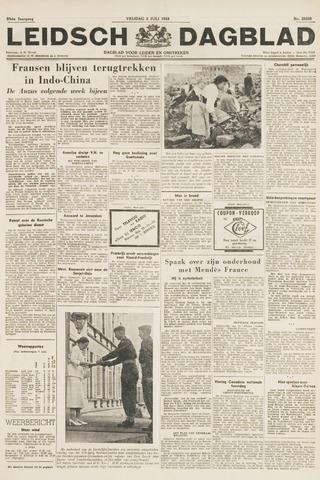 Leidsch Dagblad 1954-07-02