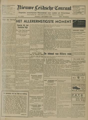Nieuwe Leidsche Courant 1939-09-01
