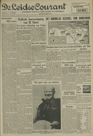 Leidse Courant 1955-10-26