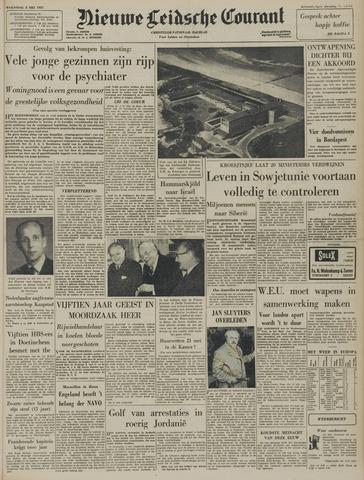 Nieuwe Leidsche Courant 1957-05-08