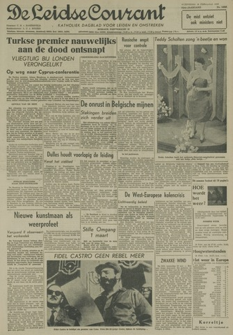 Leidse Courant 1959-02-18