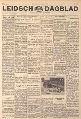 Leidsch Dagblad 1947-08-21