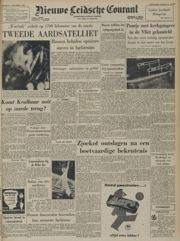 Nieuwe Leidsche Courant 1957-11-04