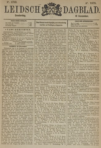 Leidsch Dagblad 1878-12-19