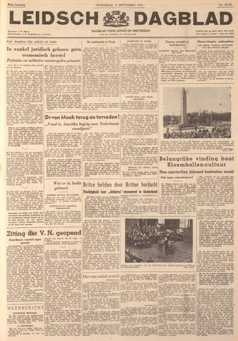 Leidsch Dagblad 1947-09-17