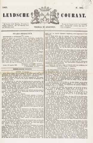 Leydse Courant 1865-08-25