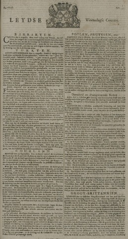 Leydse Courant 1727-10-22