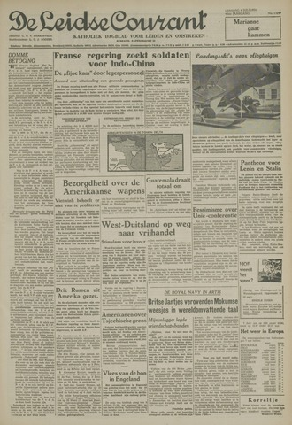 Leidse Courant 1954-07-06