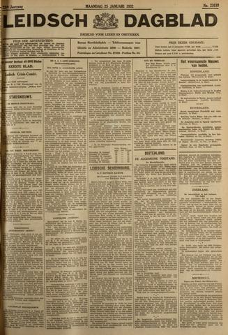 Leidsch Dagblad 1932-01-25