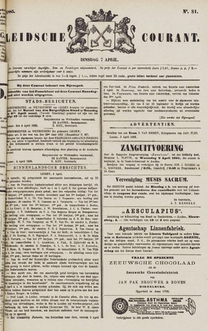 Leydse Courant 1885-04-07
