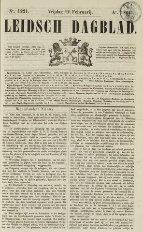 Leidsch Dagblad 1864-02-12