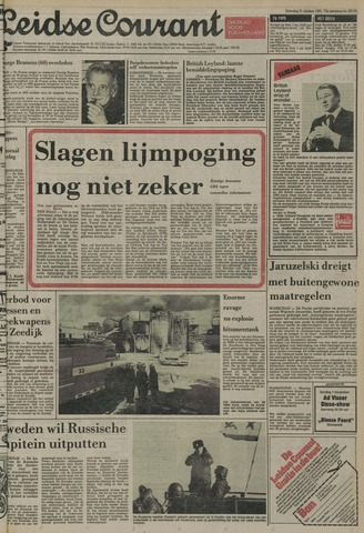 Leidse Courant 1981-10-31