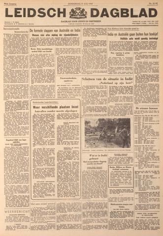 Leidsch Dagblad 1947-07-31
