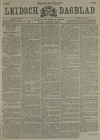 Leidsch Dagblad 1909-02-22