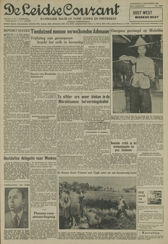 Leidse Courant 1955-09-15