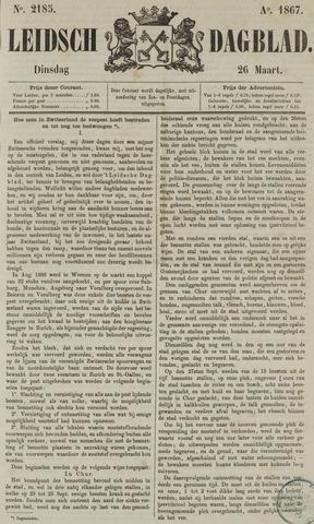 Leidsch Dagblad 1867-03-26