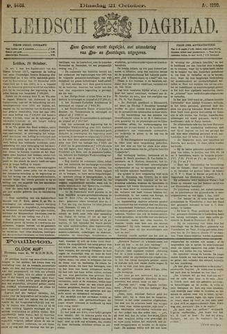Leidsch Dagblad 1890-10-21